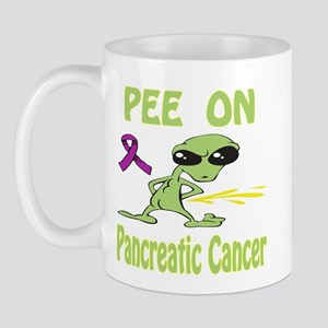 Pee on Pancreatic Cancer Mug